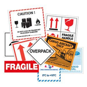 Handling & Shipping Labels