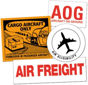 Air Freight Labels