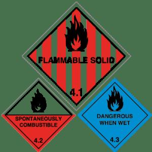 Class 4 Labels