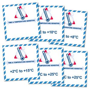 Time & Temperature Sensitive Labels