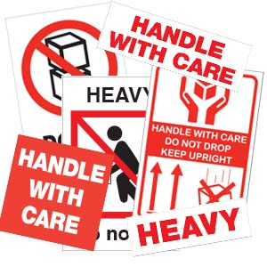 Handle With Care Labels